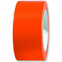 PVC līmlente 50mm x 33m, UV, oranža, gluda