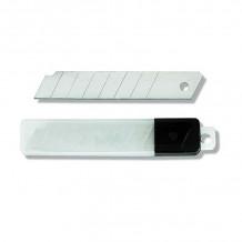 Tapešu naža asmeņi 18mm (10gab.), 0.4mm, blisterī