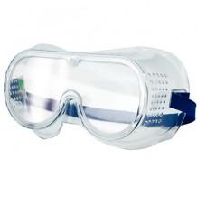 Защитные очки с резиной, закрытые, VOREL