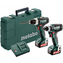 Tööriistakomplekt BS 12 + SSD 12 2x2.0Ah 685166000 & MET Metabo