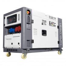 Dīzeļa ģenerators KS 14-2DE 1/3 ATSR 10000 W KONNER & SOHNEN