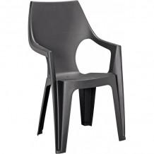 Dārza krēsls Dante High Back pelēks 29187057939 KETER