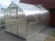 Kasvuhoone KLASIKA STANDART 20 - 2,5 x 8m - 4mm polükarbonaat KLASIKA KASVUHOONE