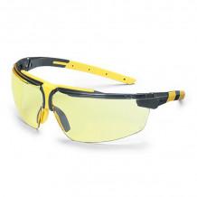 UVEX i-3 s prillid, kollased, HC / AF katted.