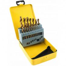 HSS-puuride komplekt metallile 1-10mm (19 tk) DEGET