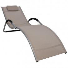Guļamkrēsls BRIGO 177x65x73cm 10028 HOME4YOU