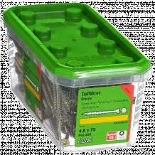 Skrūves fasādei-terasei 4.8X75 CS-250gab. 648575 ESSVE