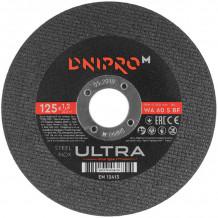 Lõikeketas Ø125x1,2x22,23mm Ultra DNIPRO-M