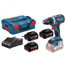 Akumulatora skrūvgriezis GSB 18V-60 C, LB 3x5.0, 18V-40 0615990L85 Bosch