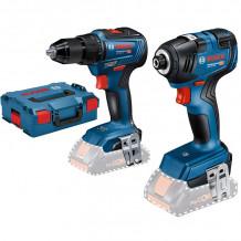Tööriistakomplekt GDR 18V-200 GSR 18V-55 LB, SOLO 06019J2101 Bosch