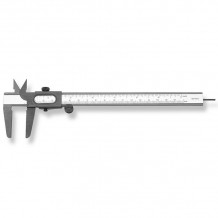 "Bīdmērs tips206 160mm/5"" 1/10mm 1/16"" SC206.606-x SCALA"
