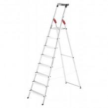 Kāpnes mājsaimniecības L60 StandardLine / alumīnija / 8 pakāpieni 038160807 HAILO