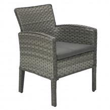 Krēsls GENAVA ar spilvenu 64x62xH85,5cm, 11869, HOME4YOU