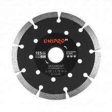 Teemantlõikeketta segment. 125x22,23mm DNIPRO-M