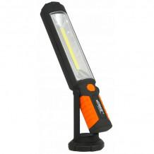 Töökojalamp COB 5W + 5 LED, laetav USB sisse / välja VERKE