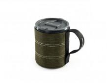 Kruus Infinity Backpacker Mug, roheline