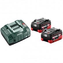 Akumulatoru komplekts ar lādētāju 685122000&MET, Metabo