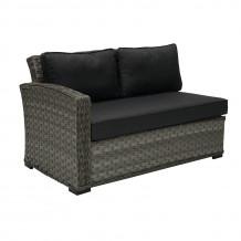 Moduļa dīvāns GENEVA ar kreiso roku balstu, 81x132x78cm, 11902, HOME4YOU