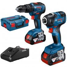 Tööriistakomplekt GDR 18V-200 GSB 18V-55 LB, 2x4.0Ah, 18V-40 06019J2102 Bosch