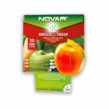 NOVAR augļu mušiņu līmslazds ar šķidrumu
