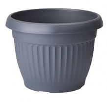 Puķu pods Dona 40 melns, 5404937, FORM PLASTIC