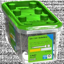 Liistu-/põrandakruvi puit- ja metallkarkassile 3.9X57 FZG-250tk. 554657 ESSVE