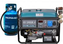 Benzīna / gāzes ģenerators KS 10000E-G 8000W KONNER & SOHNEN