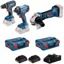 Tööriistakomplekt 18V 3X, LB 3x4.0PrC, 18V-40 0615990L56 Bosch