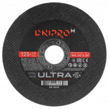 Lõikeketas Ø125x1,0x22,23mm Ultra DNIPRO-M