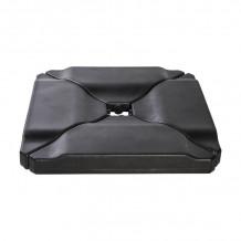 Päikesevarju raskus, 4 osaline, plastik, värv: must 11790