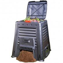 Kompostikast Mega Composter 650L ilma aluseta, must 29184214900 KETER