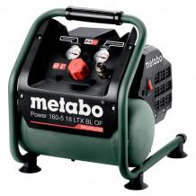 Аккумуляторный компрессор Power 160-5 18 LTX BL OF 601521850&MET Metabo