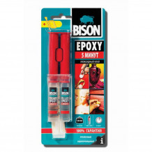 Liim Epoxy 5 Min 24ml 1586025 BISON