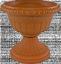 Puķu pods-vāze Roma 5 terakota, 4309781, FORM PLASTIC