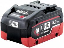 Akumulators 18V 8.0Ah LiHD 625369000&MET Metabo