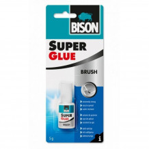 Līme Super Glue With Brush 5g 6301789 BISON