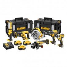 6 tööriista komplekt 18V, DCK623P3-QW DeWALT