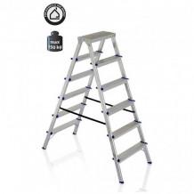 Kāpnes alumīnija DHR 6 pakāpieni.1.29 m / 3.2 m 3390307 ELKOP
