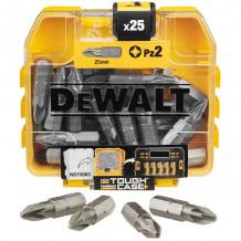 Otsikud PZ2 25mm (25tk.) DT71521-QZ DEWALT