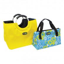 Termokottide komplekt Bag In The City, sinine-kollane / kollane-sinine, 1130873, GIO`STYLE