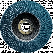 Slīpējamais disks lapiņu 125mm G60 cirkonijs NOVOABRASIVE