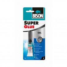 Līme Super Glue Gel 20g kastē 6304424 BISON