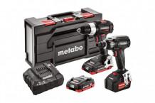 18V tööriistade komplekt: SB 18 LT BL SE + SSW 18 LTX 400 BL SE, Metabo
