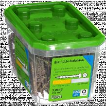 Liistu-/põrandakruvi puit- ja metallkarkassile 3.9X42 FZG-400tk. 554642 ESSVE