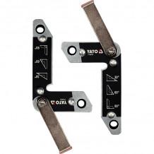 Magnēts metināšanai 6.5x3.5cm, 11.0x7.0cm (2gab) YATO
