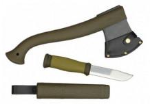 Kirve ja noa komplekt 105 mm 1-2001 MORAKNIV