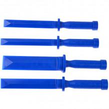 Plastmasas skrāpju komplekts 18-36mm, 255mm, (4gab.) Geko