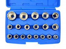 Padrunvõtmete komplekt 1/2 '' 8-32mm (19tk.) 12-kepiline Geko