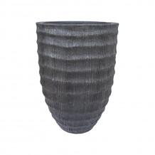 Puķupods PALM D43xH62cm, pelēks, 71937, HOME4YOU