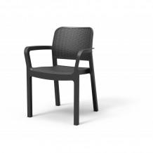 Dārza krēsls Bella pelēks, 29210741939, KETER